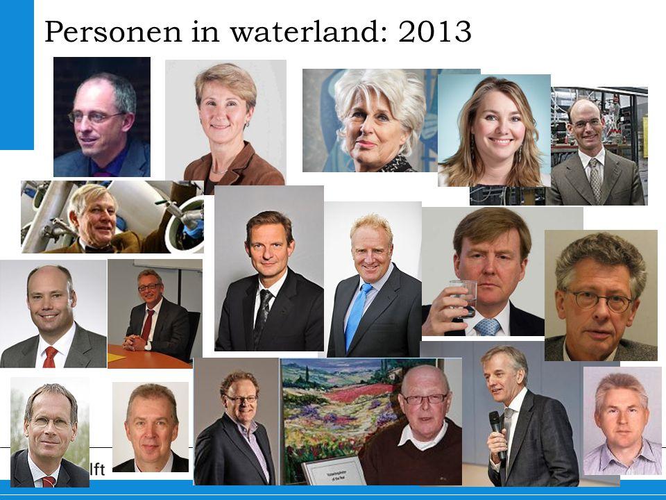 Personen in waterland: 2013