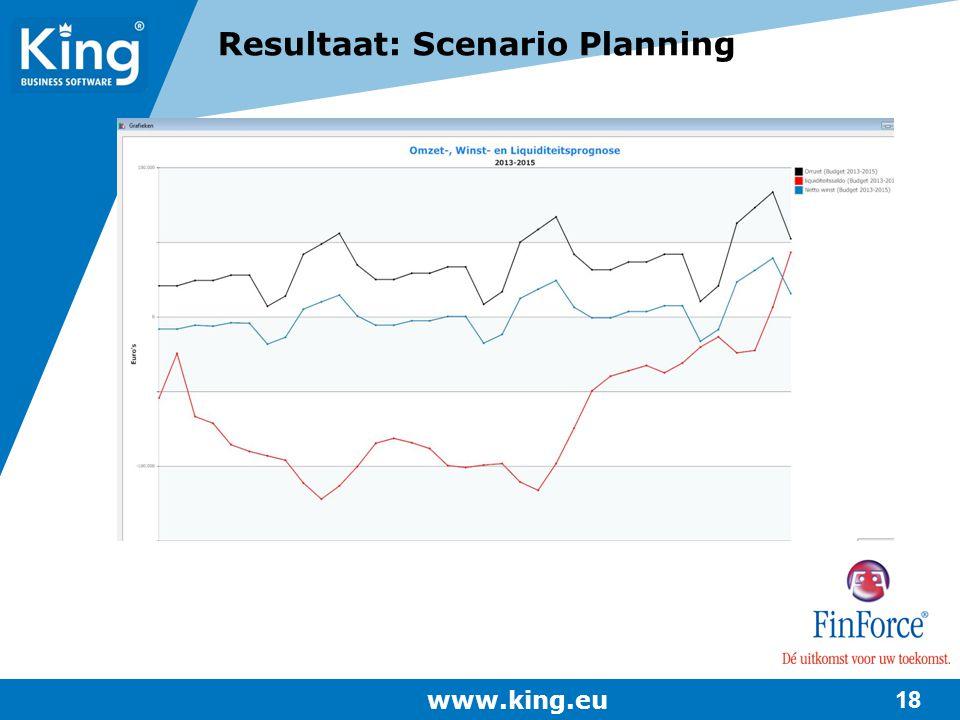 Resultaat: Scenario Planning