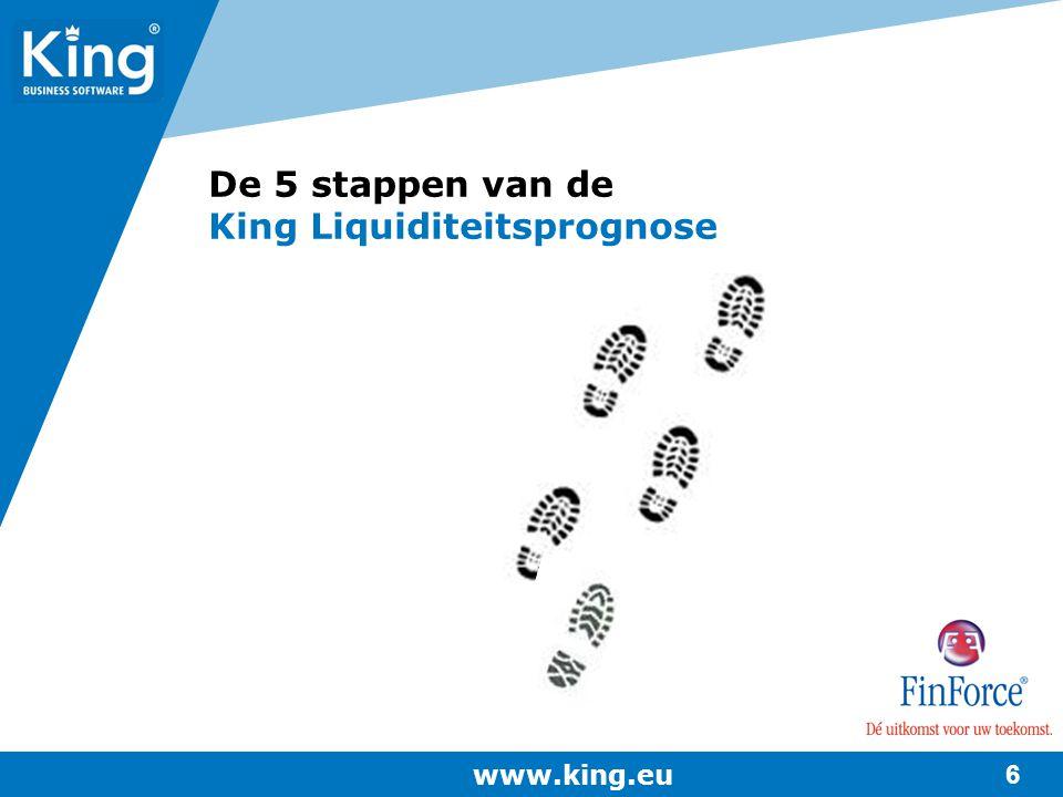 De 5 stappen van de King Liquiditeitsprognose