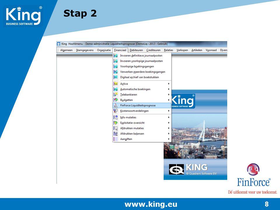 Stap 2 www.king.eu