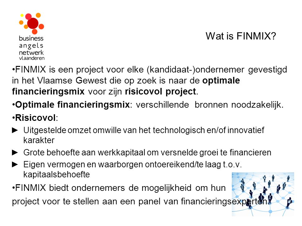 Wat is FINMIX