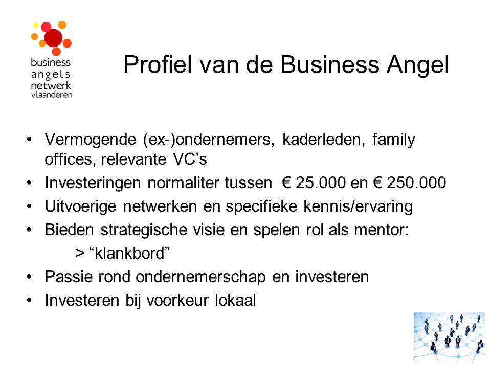 Profiel van de Business Angel