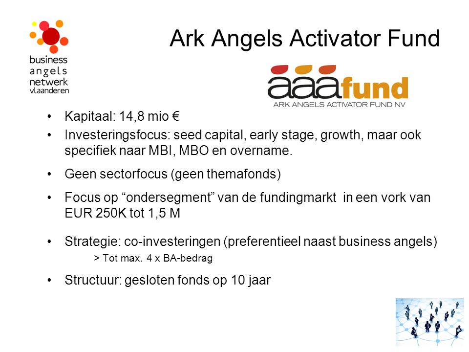 Ark Angels Activator Fund