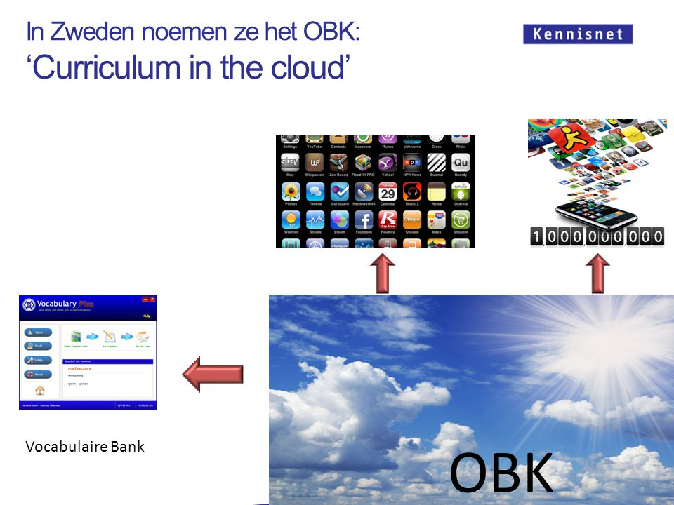 In Zweden noemen ze het OBK: 'Curriculum in the cloud'