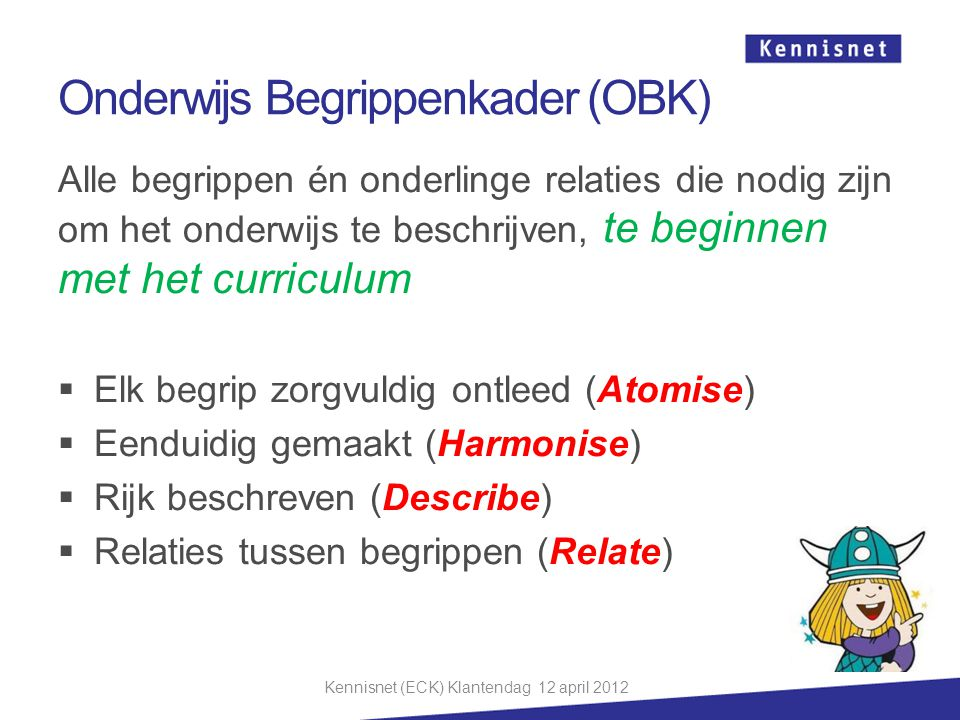 Onderwijs Begrippenkader (OBK)