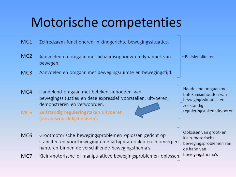 Motorische competenties