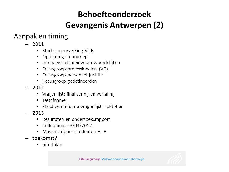 Behoefteonderzoek Gevangenis Antwerpen (2)