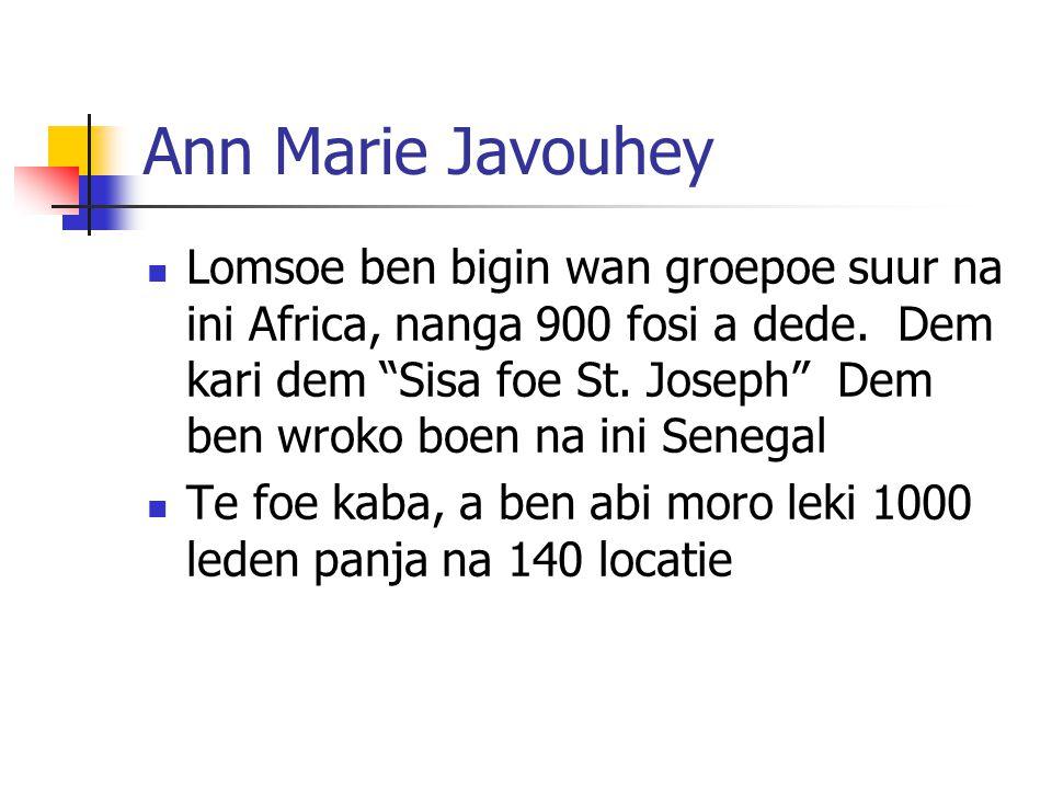 Ann Marie Javouhey