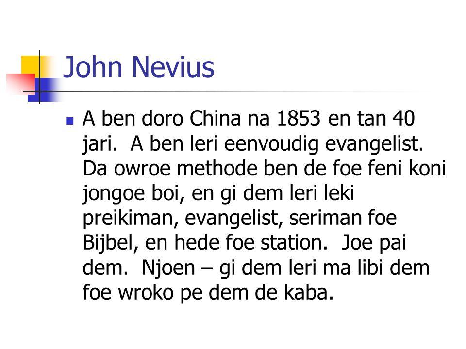 John Nevius