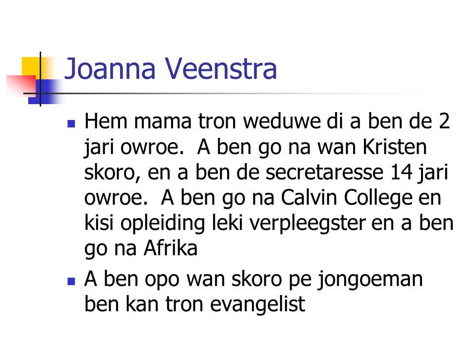 Joanna Veenstra
