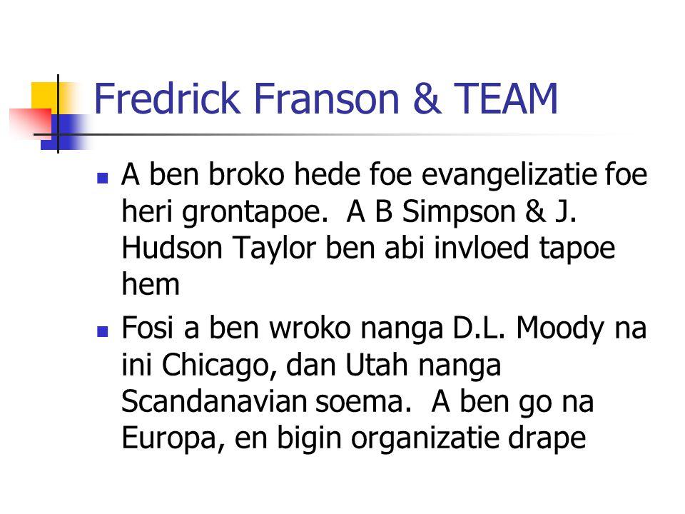 Fredrick Franson & TEAM