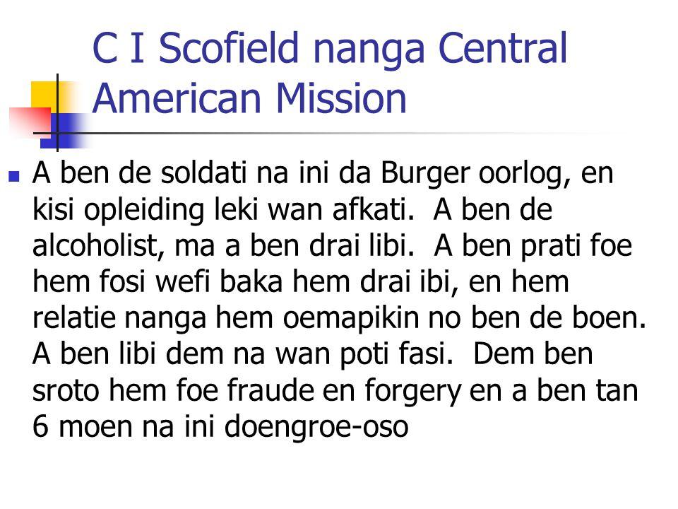 C I Scofield nanga Central American Mission