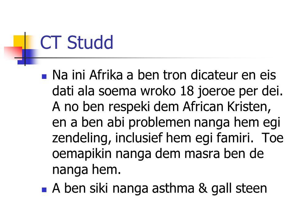 CT Studd