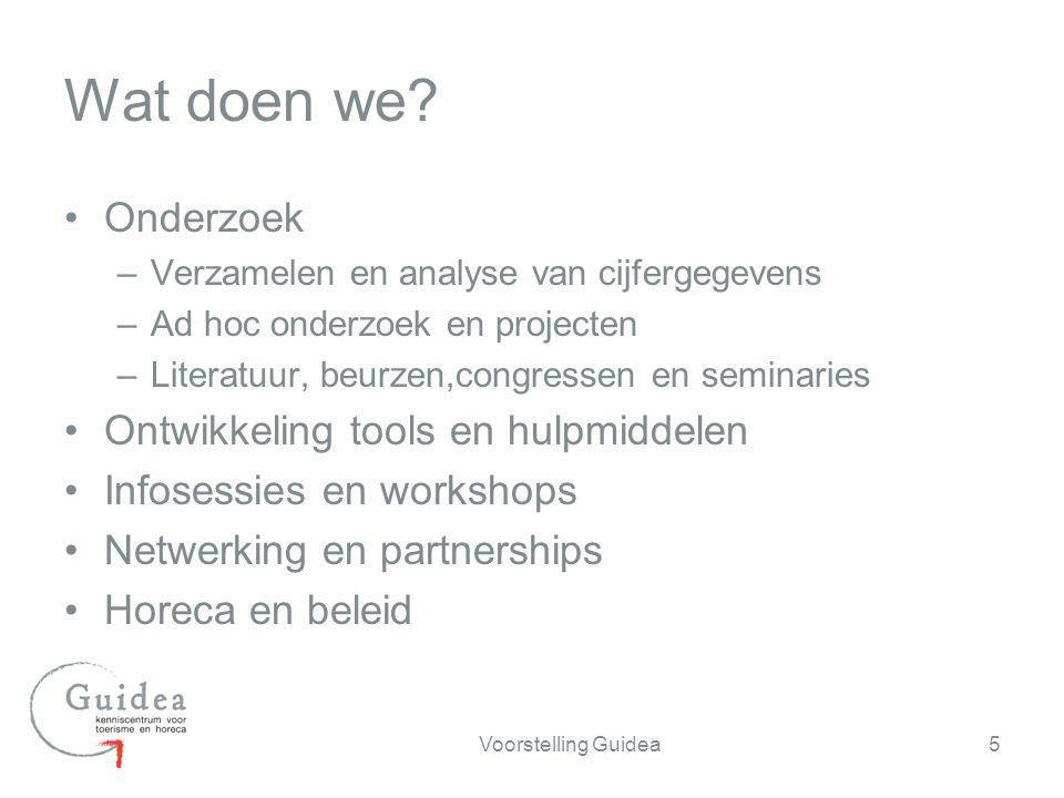 Wat doen we Onderzoek Ontwikkeling tools en hulpmiddelen