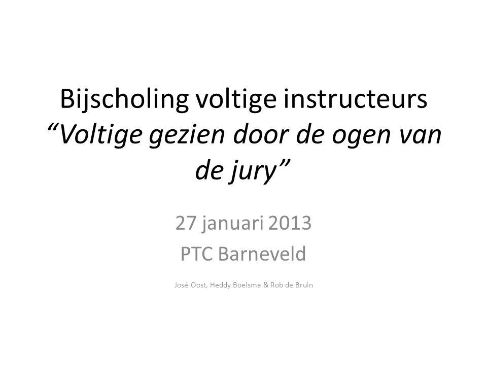 27 januari 2013 PTC Barneveld José Oost, Heddy Boelsma & Rob de Bruin
