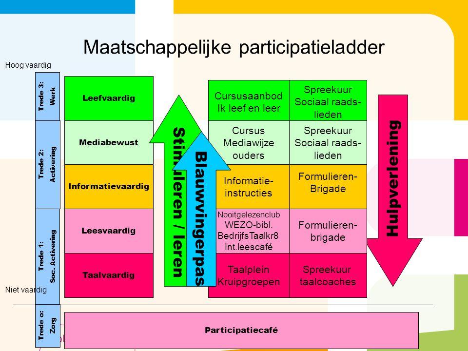 Maatschappelijke participatieladder