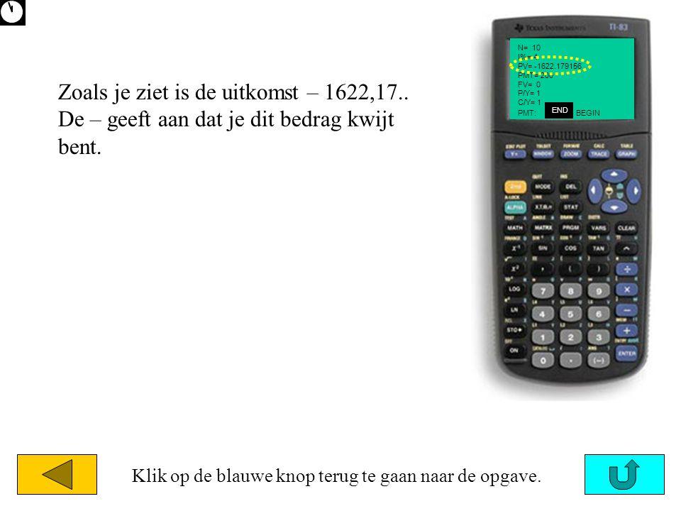 N= 10 I%= 4 PV= -1622.179156 PMT= 200 FV= 0 P/Y= 1 C/Y= 1