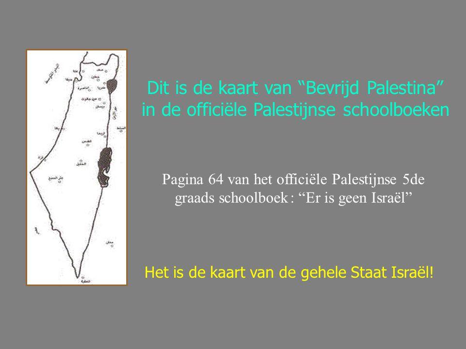 Dit is de kaart van Bevrijd Palestina