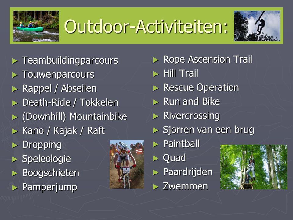Outdoor-Activiteiten: