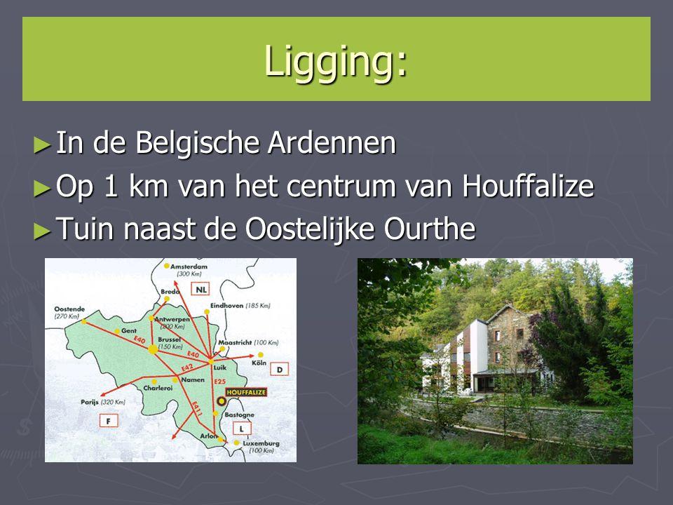 Ligging: In de Belgische Ardennen