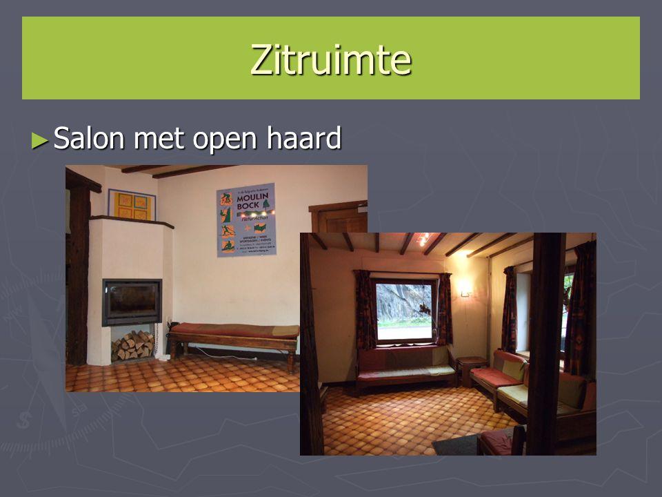 Zitruimte Salon met open haard