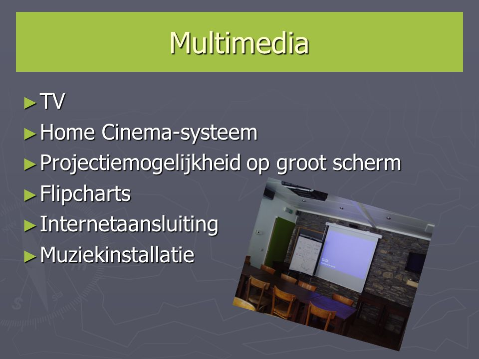 Multimedia TV Home Cinema-systeem