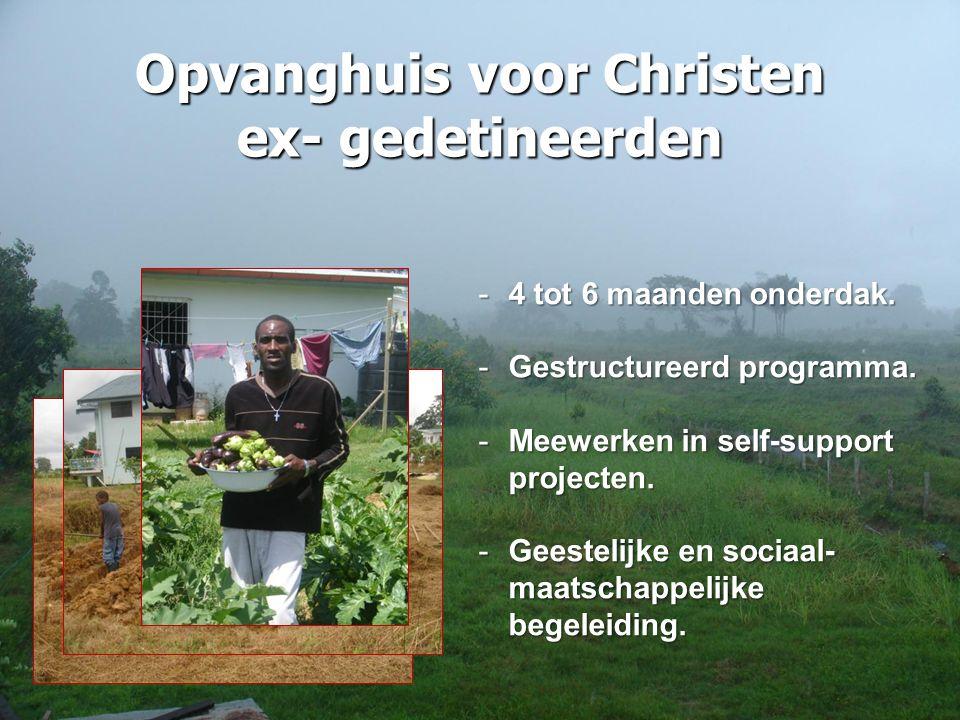 Opvanghuis voor Christen ex- gedetineerden