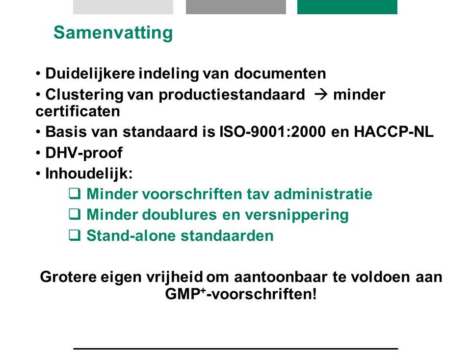 Samenvatting Duidelijkere indeling van documenten
