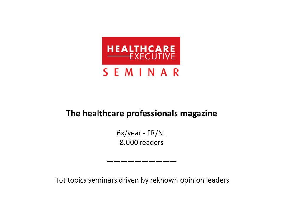 The healthcare professionals magazine