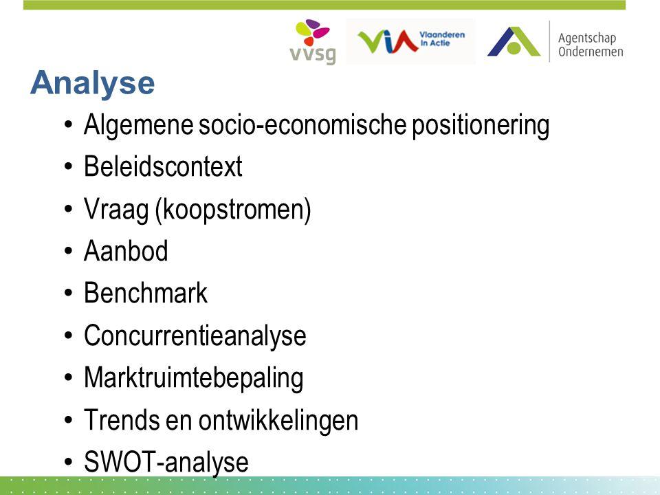 Analyse Algemene socio-economische positionering Beleidscontext