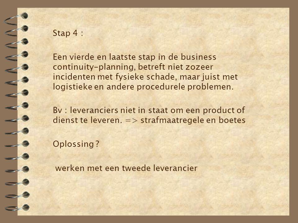 Stap 4 :