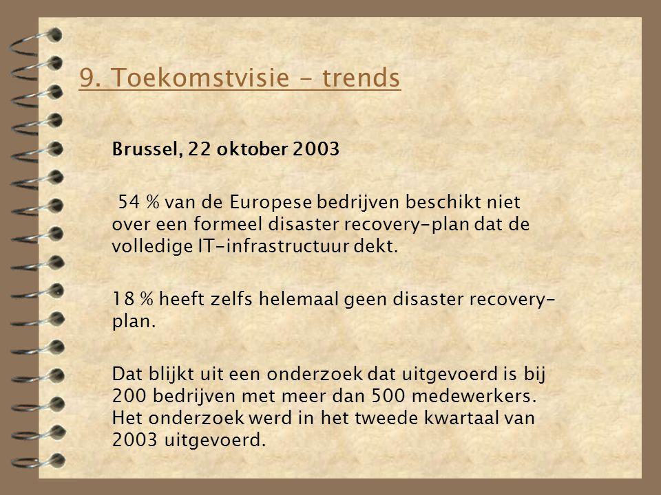 9. Toekomstvisie - trends
