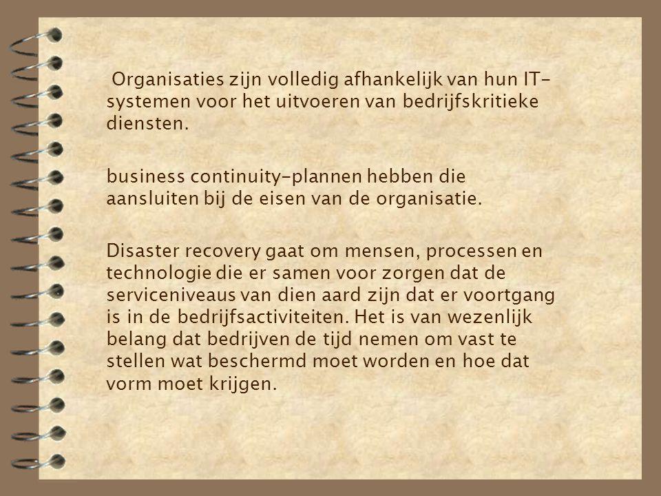 Organisaties zijn volledig afhankelijk van hun IT-systemen voor het uitvoeren van bedrijfskritieke diensten.