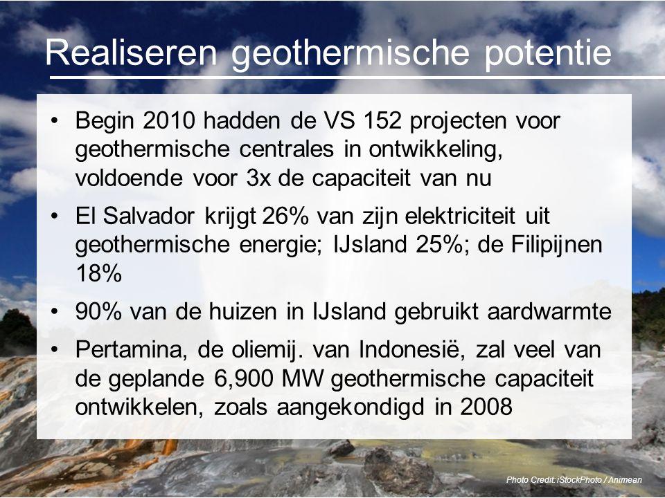 Realiseren geothermische potentie