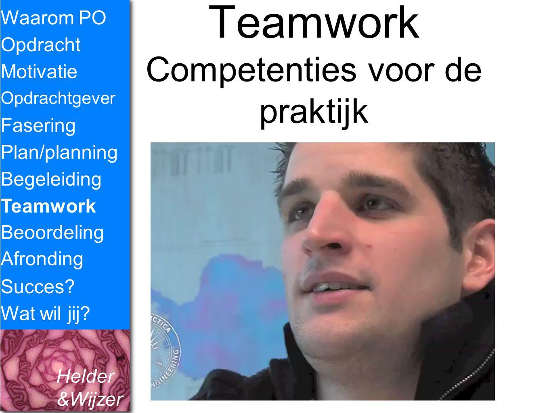 Teamwork Competenties voor de praktijk