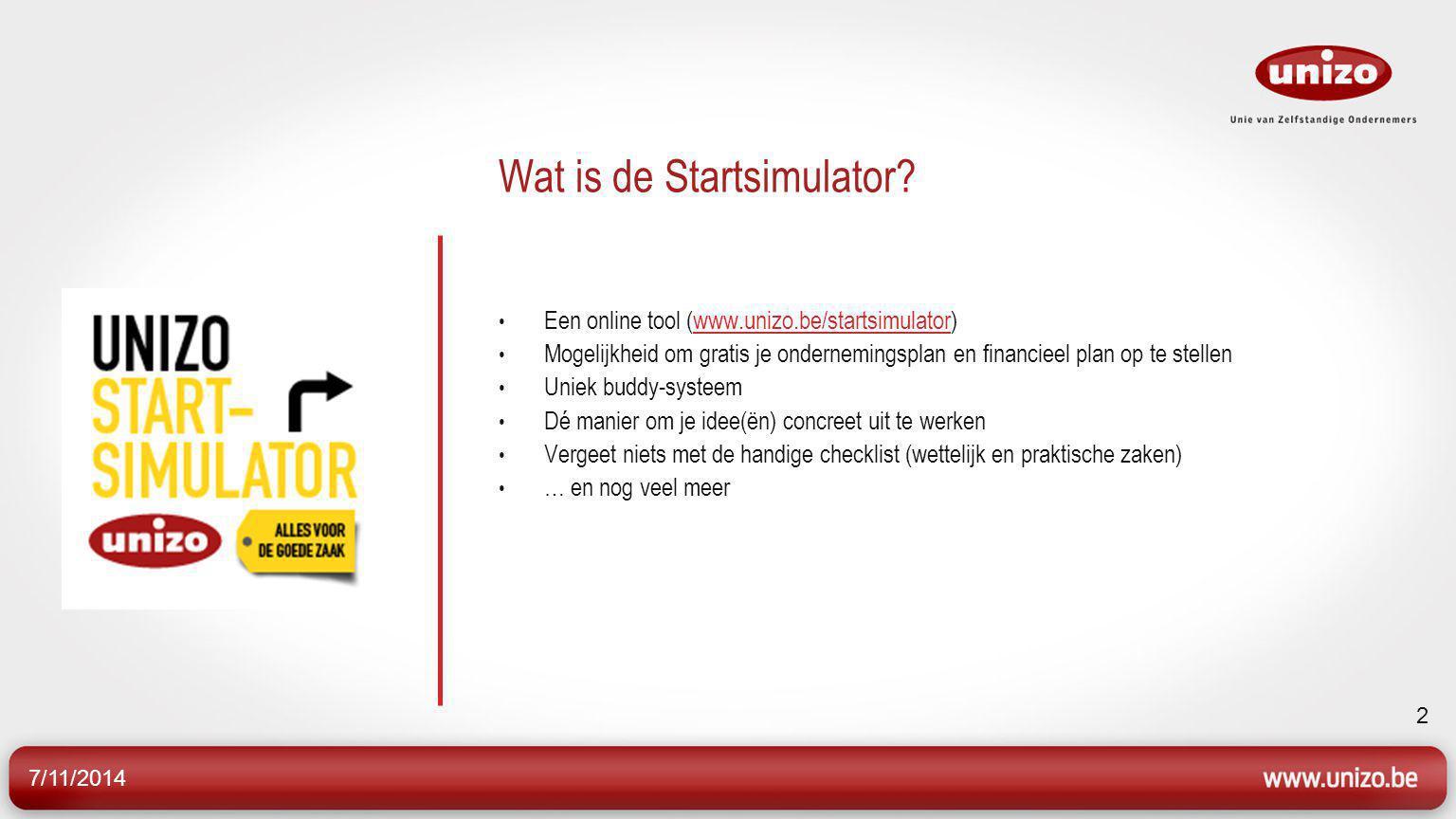 Wat is de Startsimulator