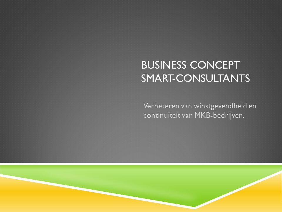 Business concept SMART-consultants