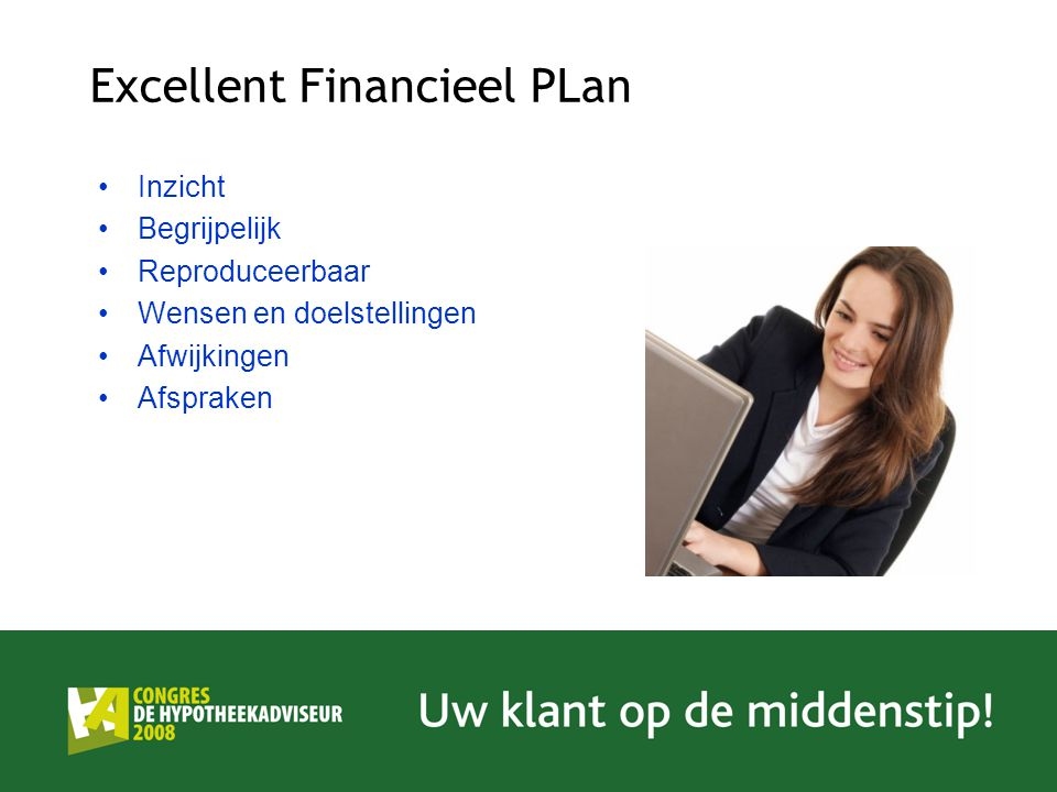 Excellent Financieel PLan
