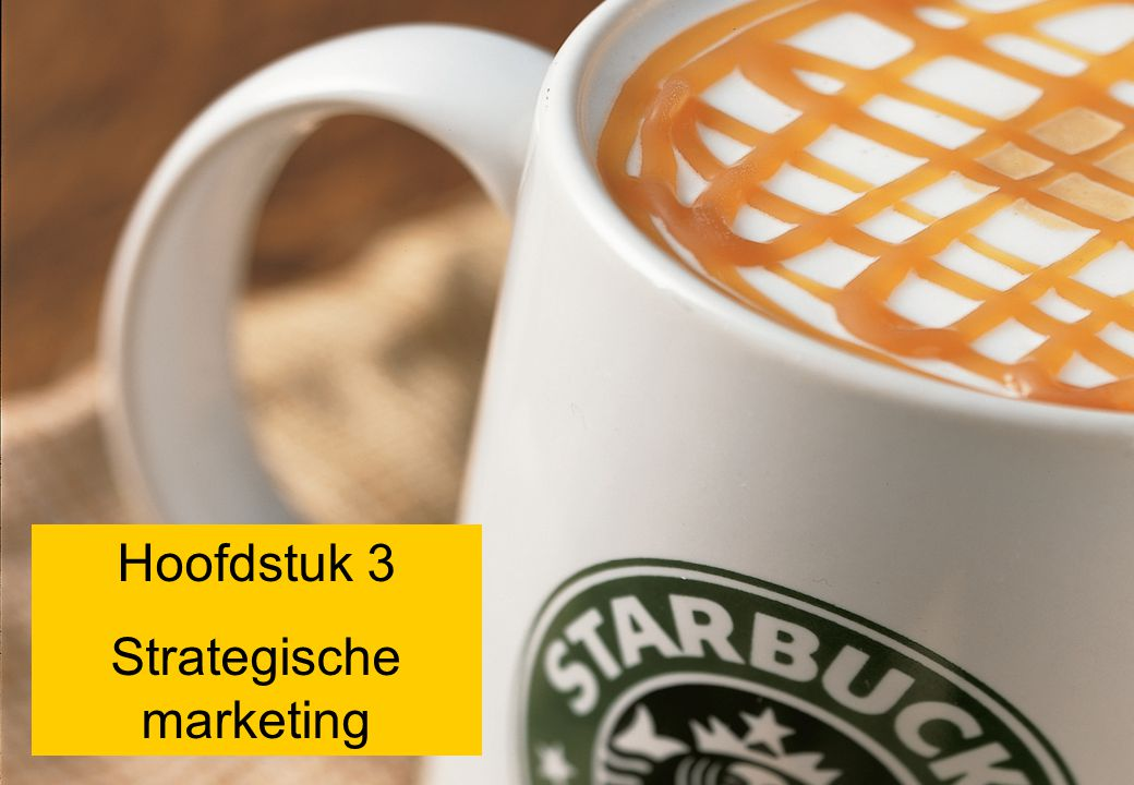 Strategische marketing