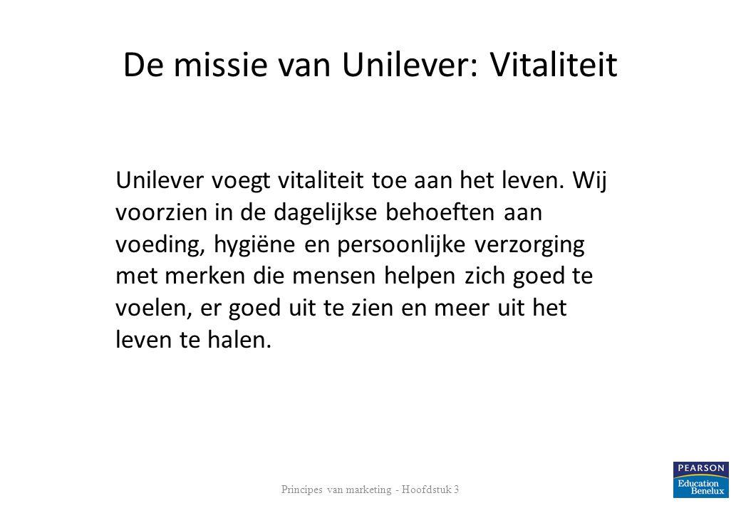 De missie van Unilever: Vitaliteit