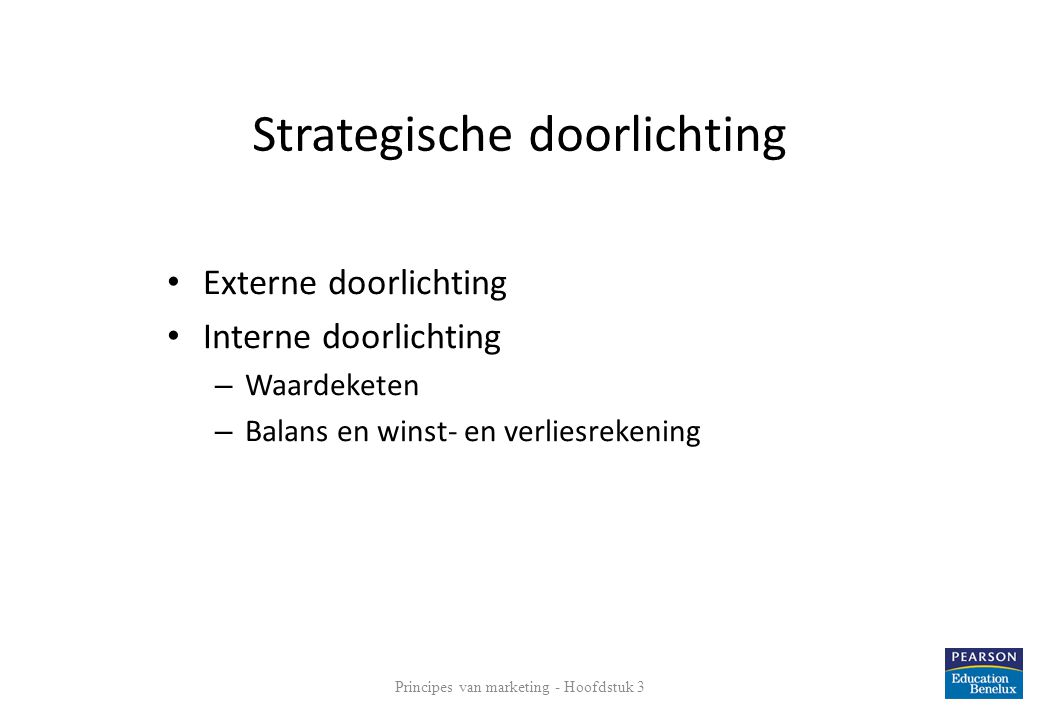 Strategische doorlichting
