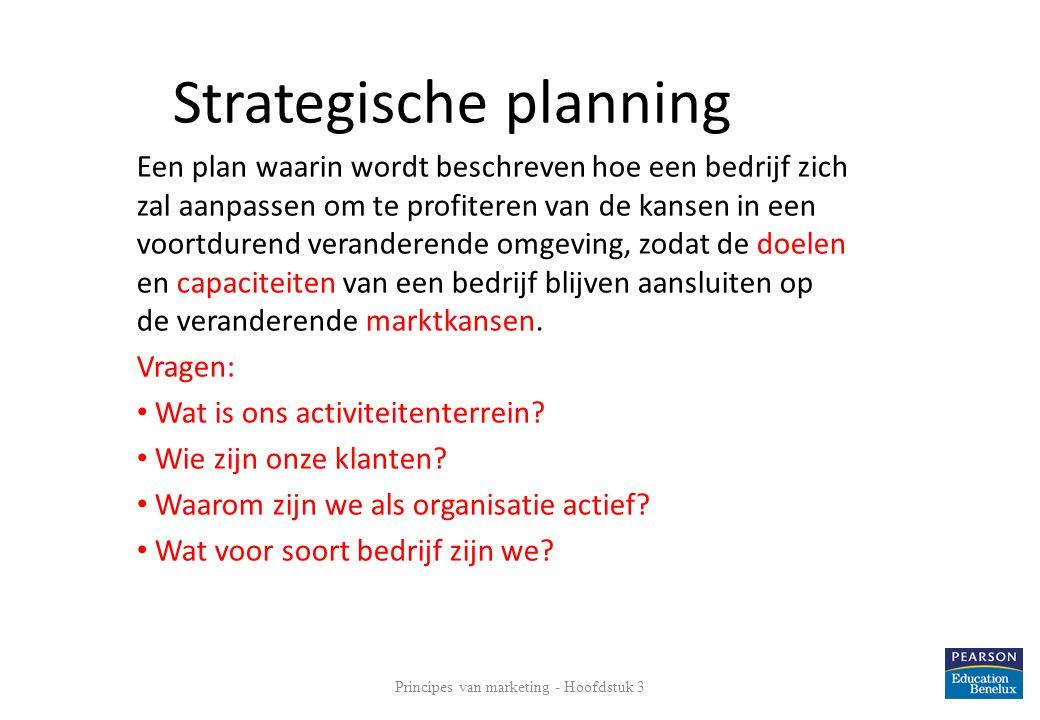 Principes van marketing - Hoofdstuk 3