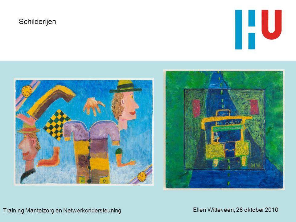 Schilderijen Training Mantelzorg en Netwerkondersteuning