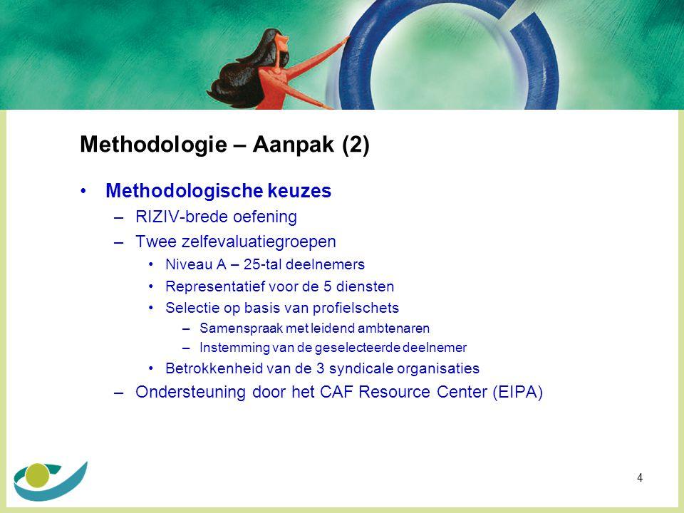 Methodologie – Aanpak (2)