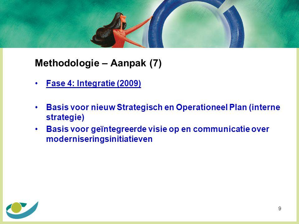 Methodologie – Aanpak (7)