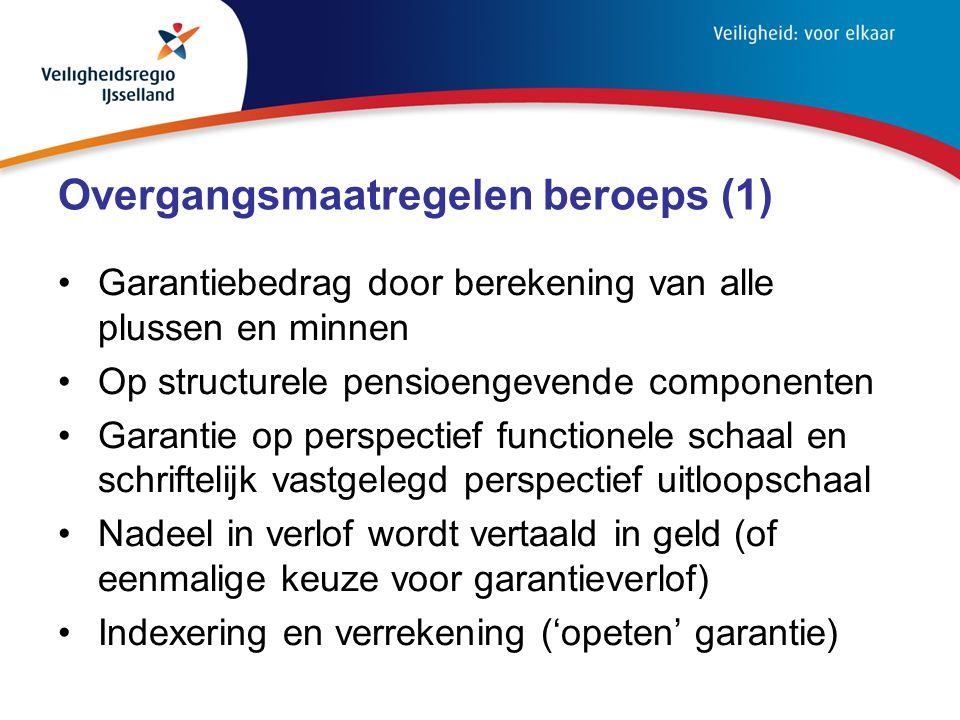 Overgangsmaatregelen beroeps (1)