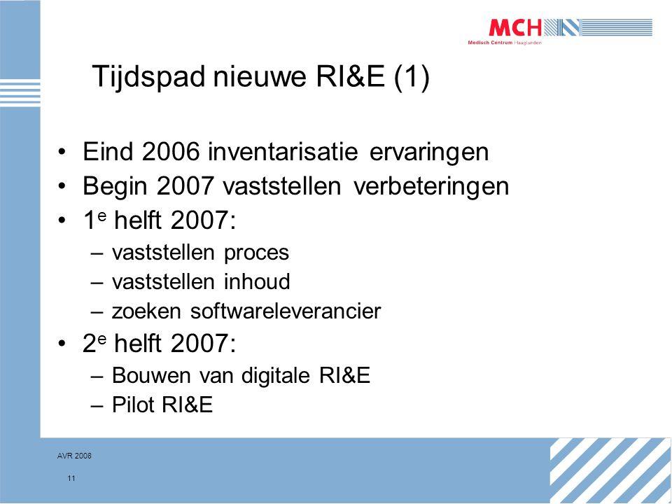 Tijdspad nieuwe RI&E (1)