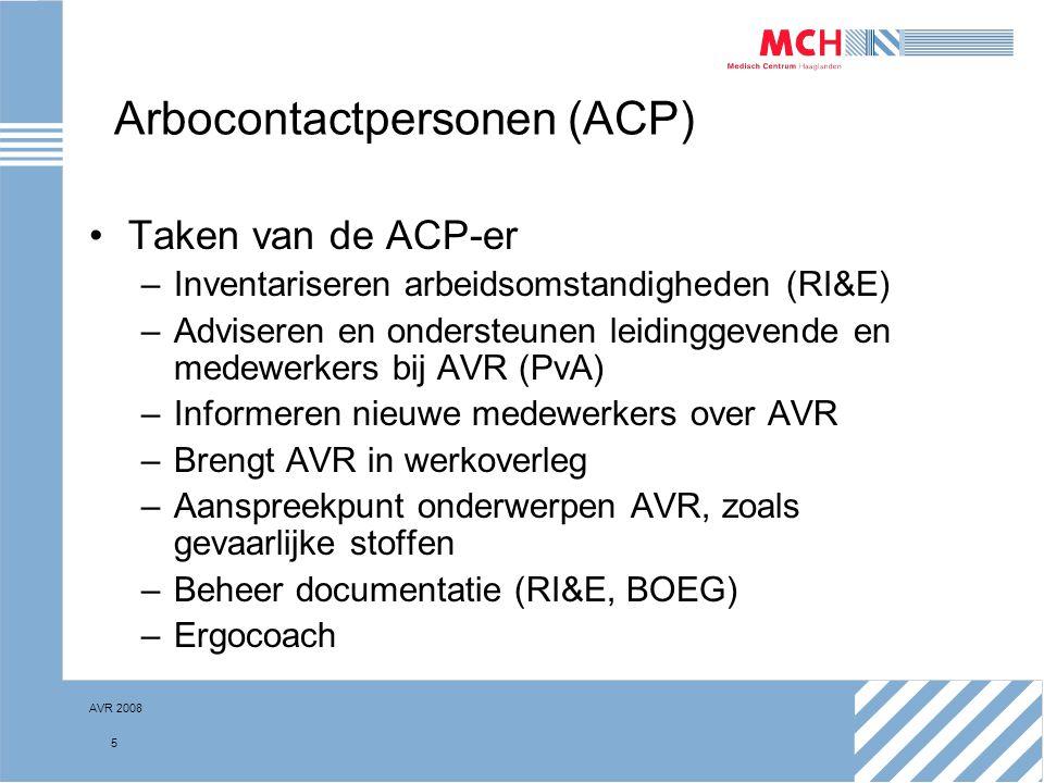 Arbocontactpersonen (ACP)