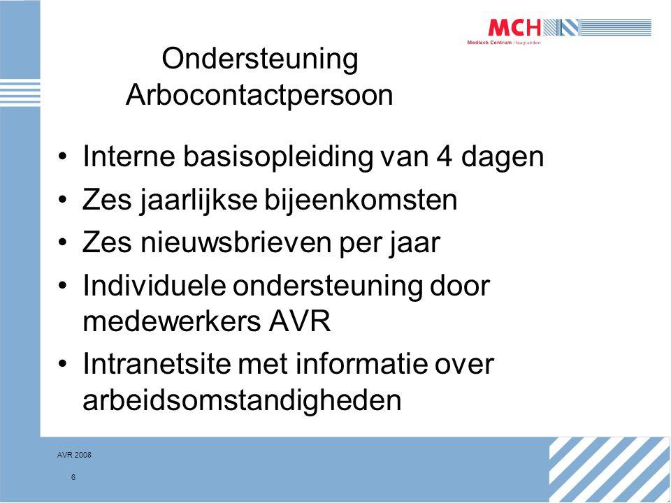 Ondersteuning Arbocontactpersoon