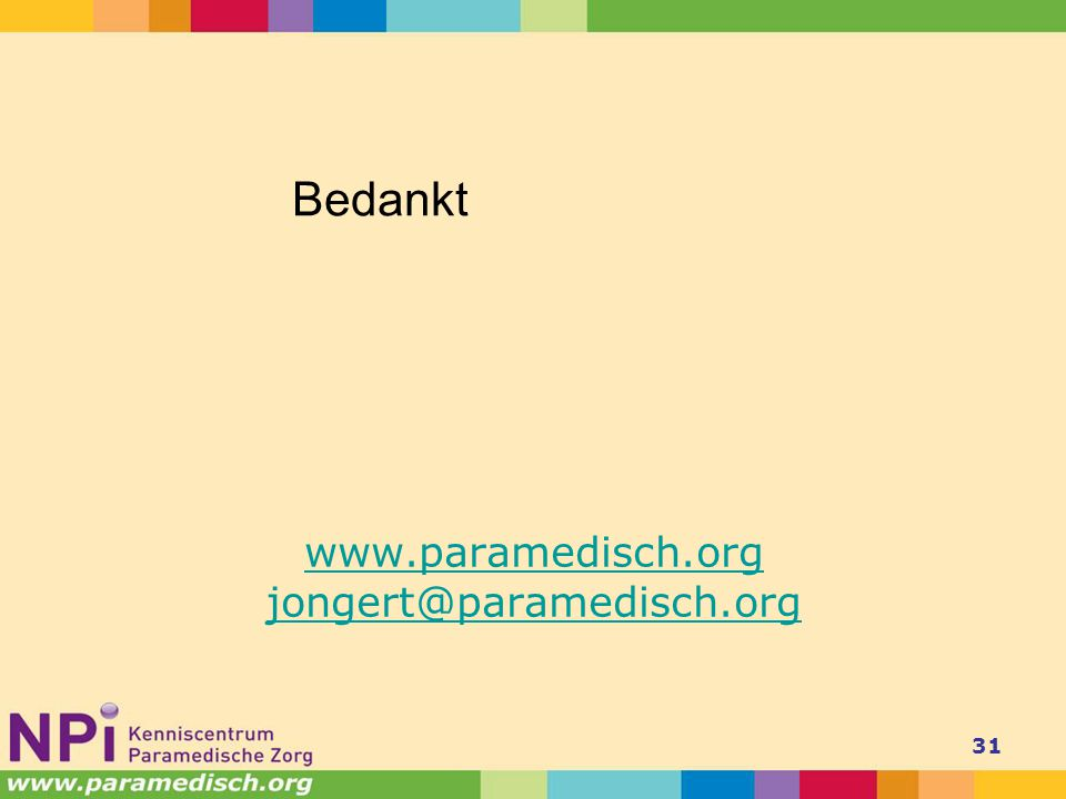 www.paramedisch.org jongert@paramedisch.org